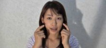 八戸市のエステ ビナーレ:田中愛の顔筋体操 How to eliminate wrinkles in the mouth